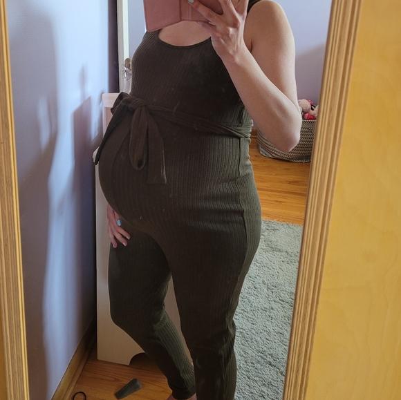 3/$8 maternity jumpsuit